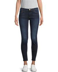 FRAME Le Skinny Ankle Jeans - Blue
