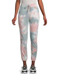 BB Dakota Women's Dye Don't Care Jogger Pants - Size Xs - Multicolour
