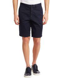 Emporio Armani Satin Shorts - Blue