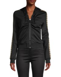Moschino Women's Embellished Teddy Bear Jacket - Black - Size 36 (2)