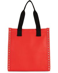 French Connection Fina Studded Tote Bag - Black