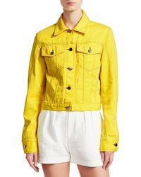 Rachel Comey Neon Denim Jacket - Yellow