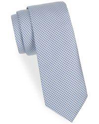 Saks Fifth Avenue - Patterned Neat Silk Tie - Lyst
