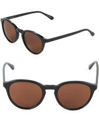 Zac Posen - Kylian 49mm Round Sunglasses - Lyst