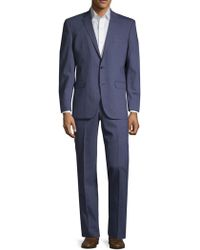 Kenneth Cole - Pinstriped Wool Blend Suit - Lyst