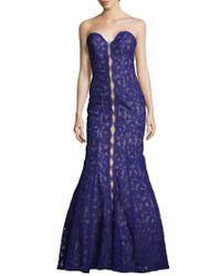 La Femme - Sweetheart Mermaid Gown - Lyst