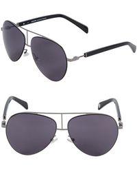 Balmain - 59mm Aviator Sunglasses - Lyst