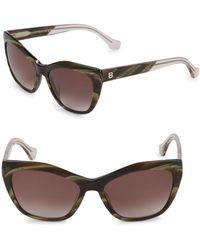 Balenciaga - 56mm Square Sunglasses - Lyst
