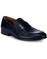 Saks Fifth Avenue - Leather Penny Loafers - Lyst
