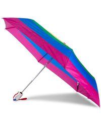 Shedrain Women's Rainbow Automatic Compact Umbrella - Rainbow - Multicolor