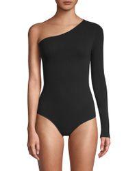 Commando - One-shoulder Bodysuit - Lyst