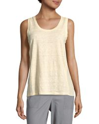Sandro - Solid Sleeveless Top - Lyst