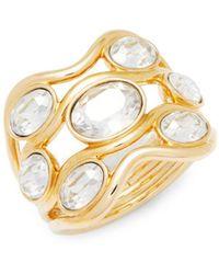 Swarovski - Crystal Statement Ring - Lyst