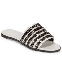 Rachel Zoe - Rayce Beaded Sandals - Lyst