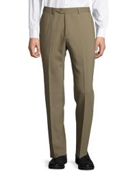 Santorelli - Solid Tapered-leg Trousers - Lyst