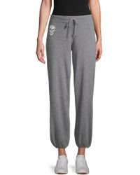 360cashmere - Heathered Cashmere Joggers - Lyst