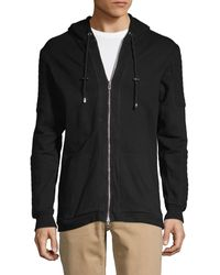 Standard Issue Hooded Cotton Jacket - Black