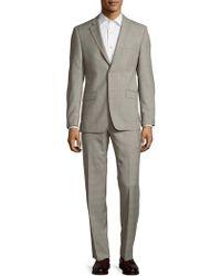 Ralph Lauren - Slim-fit Wool Check Suit - Lyst