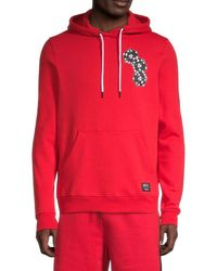 Wesc Mike Chance Dice-print Hoodie - Red