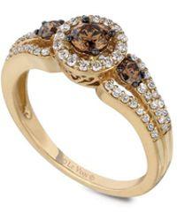 Le Vian - Chocolatier® 14k Yellow Gold & Diamond Ring - Lyst