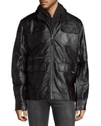 Members Only - Full-zip Hooded Jacket - Lyst