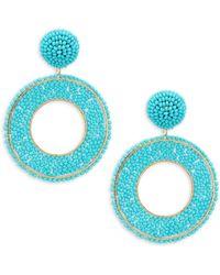 Panacea - Beaded Drop Earrings - Lyst