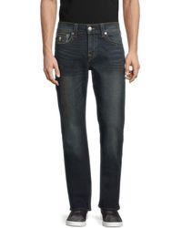 True Religion Men's Ricky Relaxed-fit Straight Jeans - Dark Denim - Size 30 - Blue