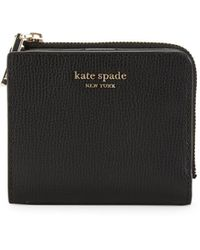 Kate Spade Sylvia Small Bi-fold Wallet - Black