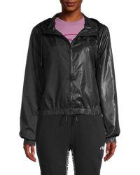Fila Women's Sicili Wind Jacket - Black - Size Xs