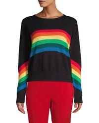 Lea & Viola - Rainbow Rib-knit Jumper - Lyst