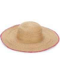 Ava & Aiden Frayed Sun Hat - Natural