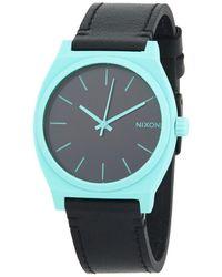 Nixon - Time Teller Stainless Steel Quartz Strap Watch - Lyst