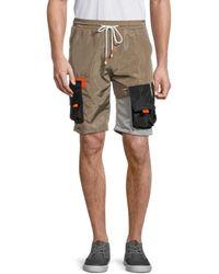 American Stitch Men's Drawstring Cargo Shorts - Green - Size Xl