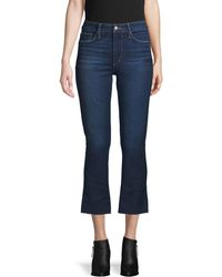 Joe's Jeans High-rise Cropped Jeans - Blue