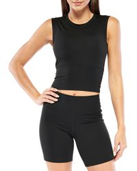 Electric Yoga - Built-in Bra Cropped Top - Lyst