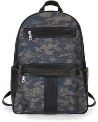 Robert Graham - Printed Logo Backpack - Lyst