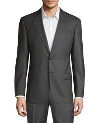 Armani G-line Fit Wool Blazer - Grey