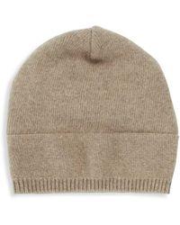 Portolano Solid Cashmere Hat - Multicolour