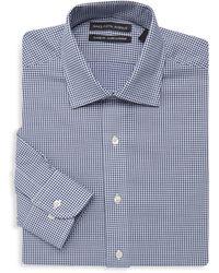 Saks Fifth Avenue - Classic-fit Gingham Dress Shirt - Lyst
