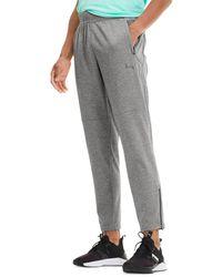 PUMA Men's Power Knit Trackster Pants - Gray - Size S