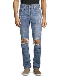 True Religion Rocco Distressed Jeans - Blue