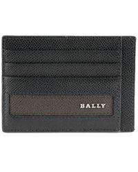 Bally Men's Lortyn Leather Card Case - Black