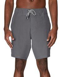 Spyder Cuts Regular-fit Swim Trunks - Grey