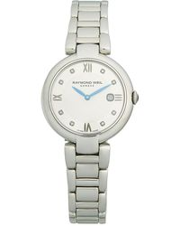 Raymond Weil Stainless Steel & Diamond Bracelet Watch - Metallic