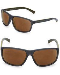Armani 62mm Square Sunglasses - Black