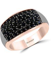 Effy 14k Rose Gold & Sterling Silver Ring - Multicolour