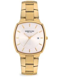 Kenneth Cole Classic Goldtone Stainless Steel Bracelet Watch - Metallic