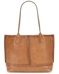 Frye - Lucy Leather Tote - Lyst