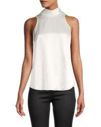 Cinq À Sept Women's Jazlyn Silk Top - Ivory - Size Xl - White