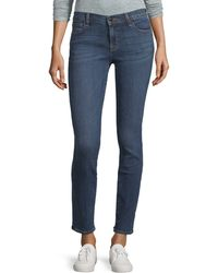 J Brand Maude Mid-rise Skinny Jeans - Blue